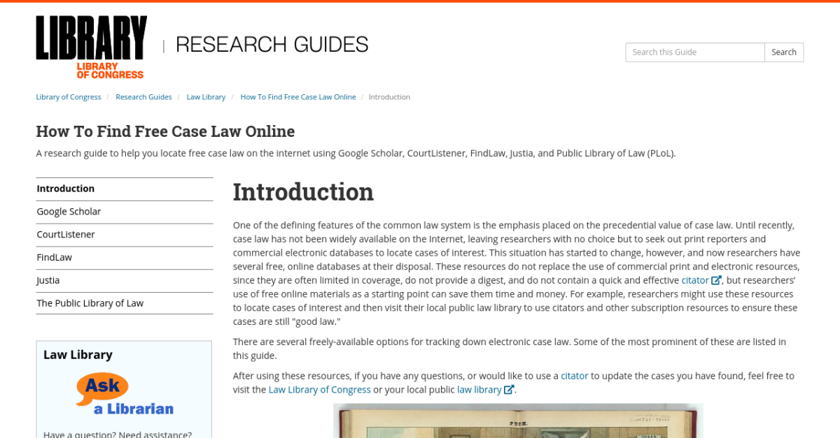 find court cases online for free